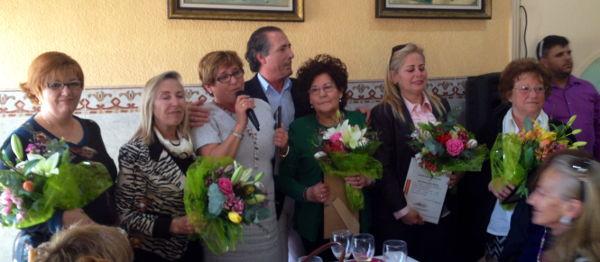 Homenaje a las mujeres del Partido Popular de Santa Pola