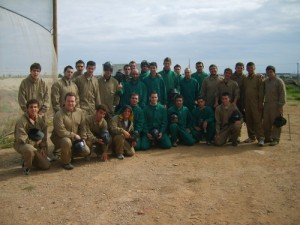 Visita instalaciones de PAINTBALL