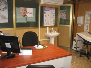 Consultorio de pediatría