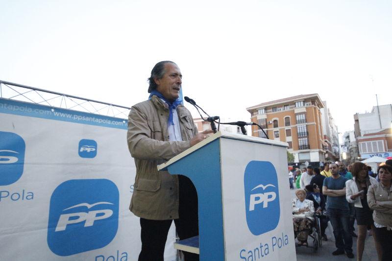 """Zaragoza: """"Santa Pola necesita que se solucionen sus problemas y lo que se sale de ahí, no me interesa"""""""