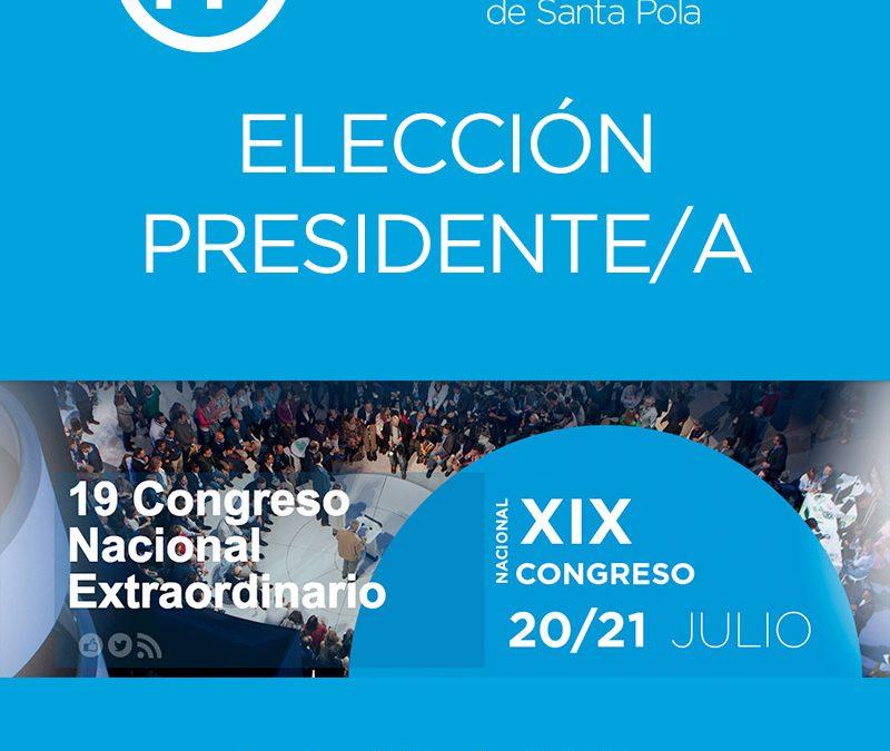 ELECCIÓN PRESIDENTE PP