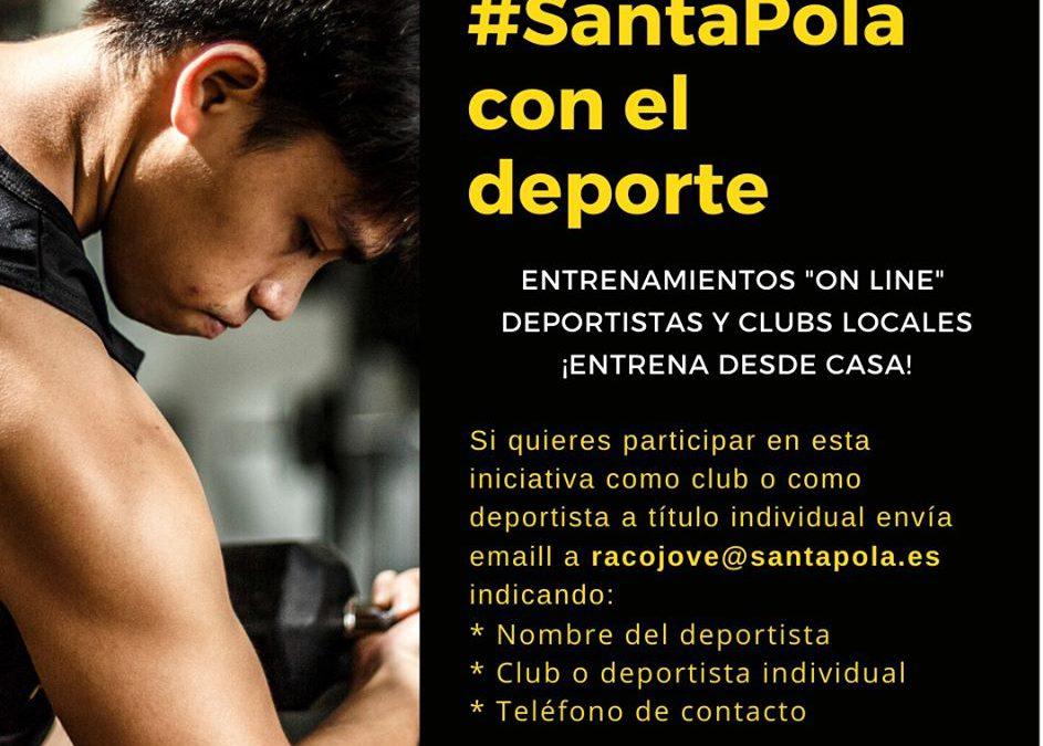 Nueva iniciativa desde la Concejalía de Deportes y Juventud para el confinamiento.